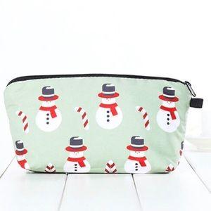 Handbags - Snowman Cosmetic bag